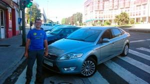 Nueva entrega de vehiculo a Peregrinos en Sarria