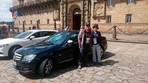 Parking en Sarria con entrega de Coche en Santiago