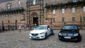 Parking en Sarria con entrega de Coche en Santiago de Compostela