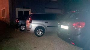 Parking en Sarria Camino a Santiago