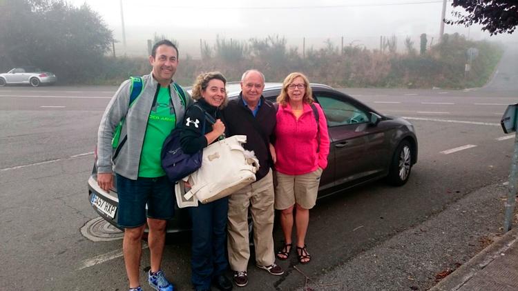 Peregrinos; Vuestro Parking en Sarria