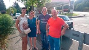 Parkin en Sarria entrega en Santiago