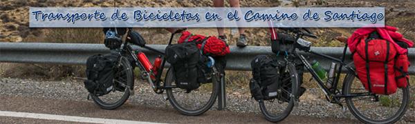 Transporte de Bicicletas en el Camino de Santiago