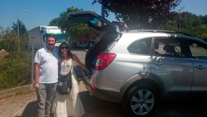 Parking Sarria Peregrinos