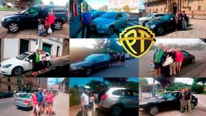 Taxi de Santiago hasta Sarria Peregrinos