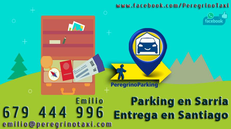 Taxi Santiago hasta Sarria