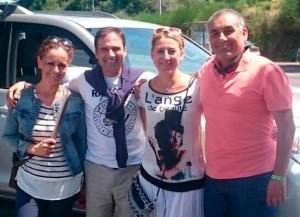 En Taxi de Santiago de Compostela a Sarria